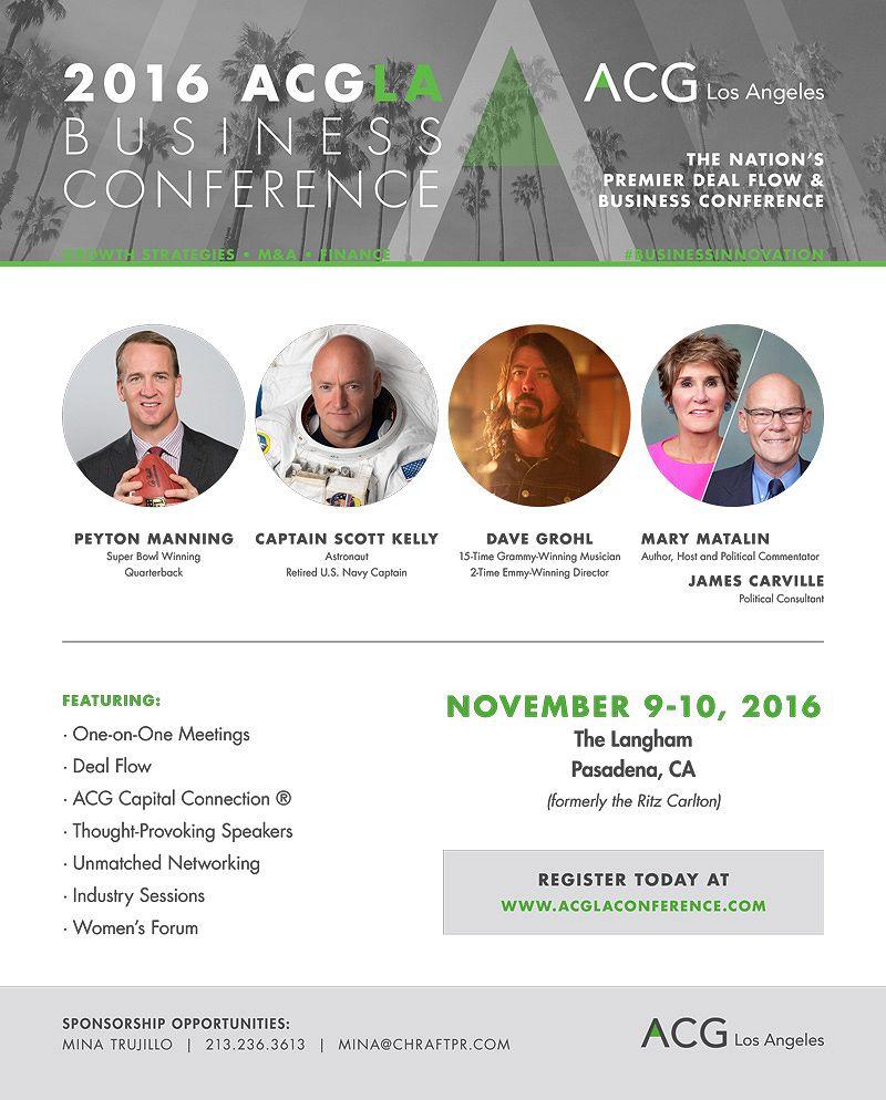 ACG LA Business Conference 2016