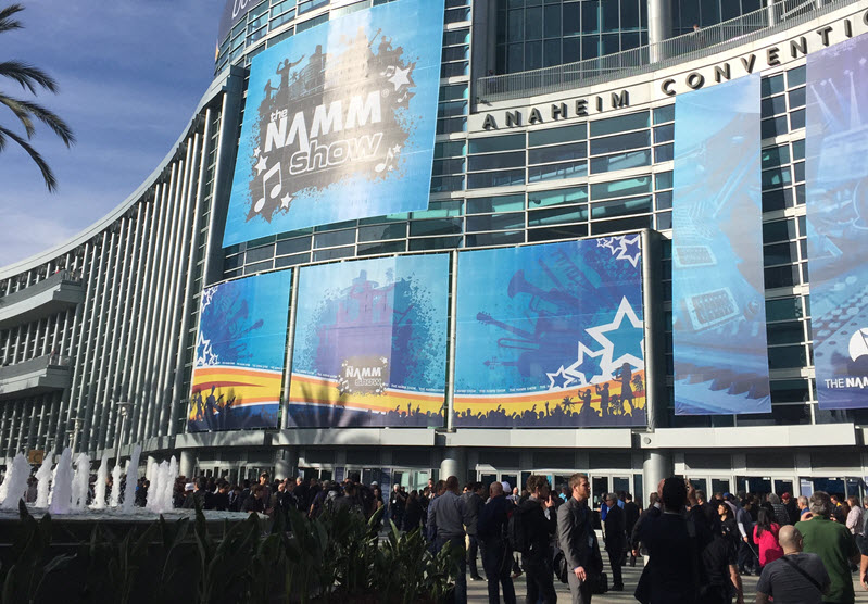 Three days in Anaheim, a handful of themes and the best music show ever—National Association of Music Merchants (NAMM) Show 2016