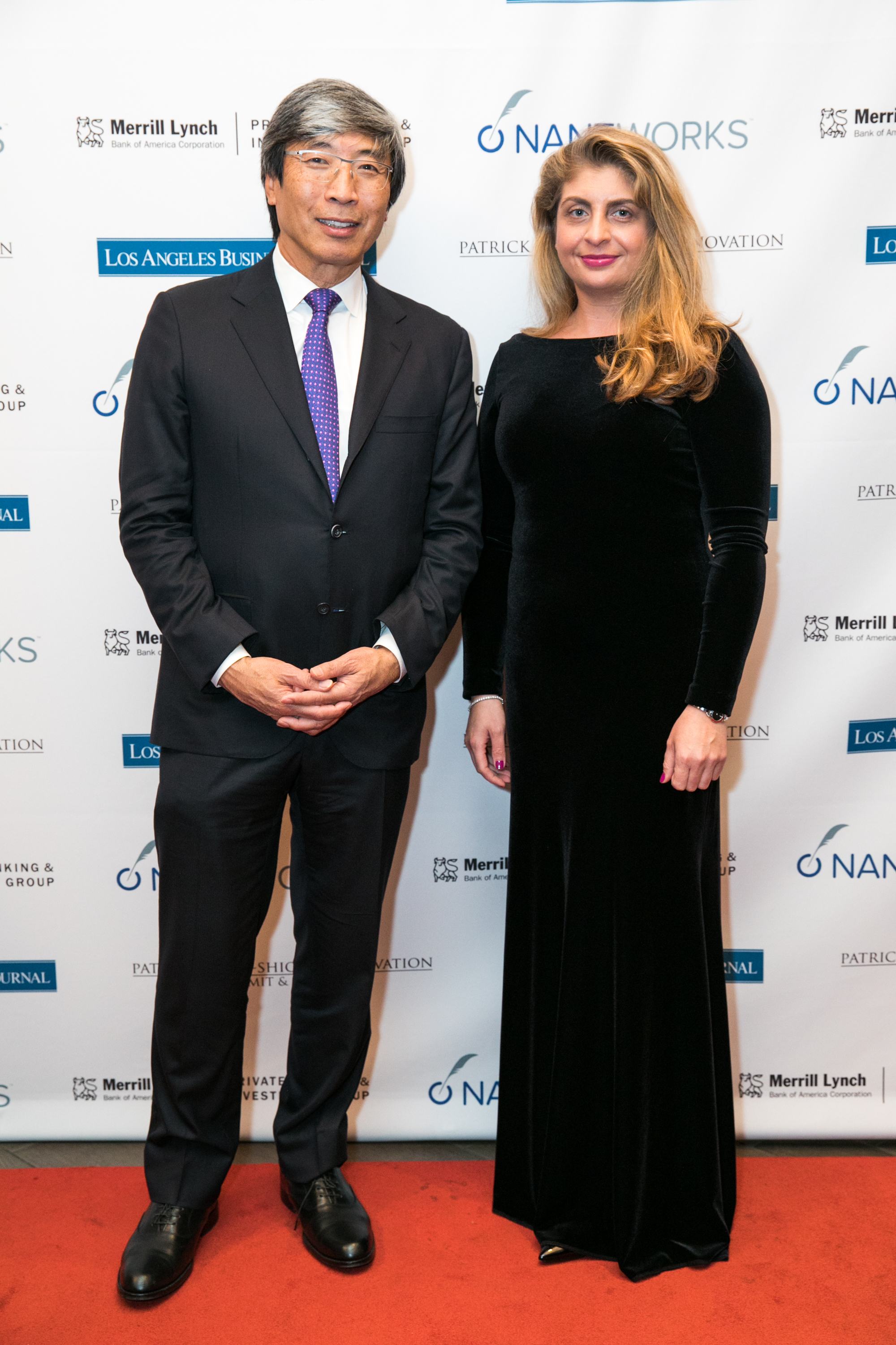 Dr. Patrick Soon-Shiong and Andreea Popa, Director, Marketing & Communications, Intrepid
