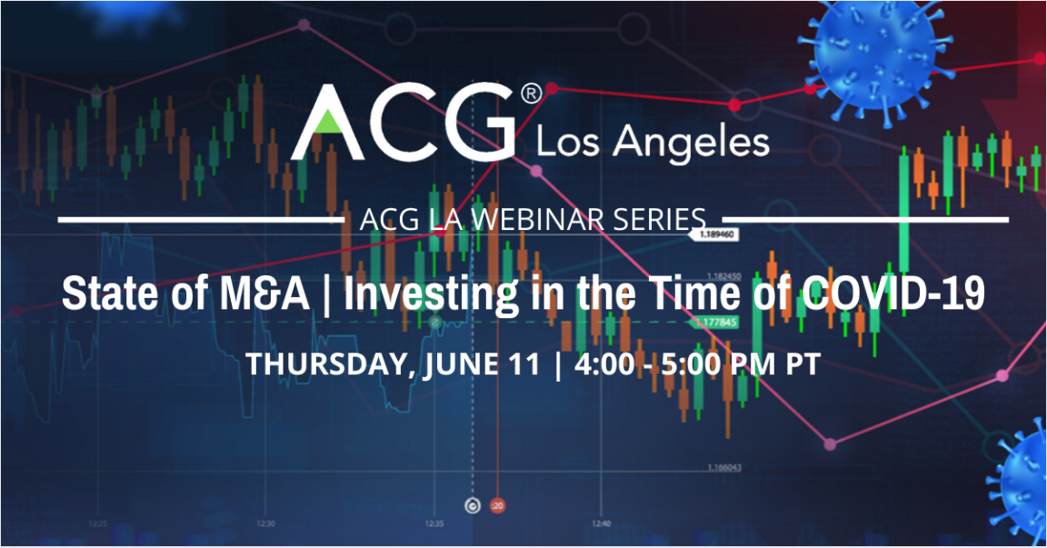 Webinar - State of M&A: Investing in the Time of COVID-19