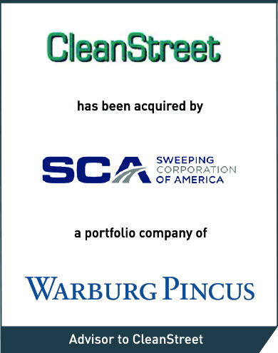 Intrepid Advises CleanStreet, the Largest Provider of Street Sweeping Services in California, on its Sale to Sweeping Corp. of America