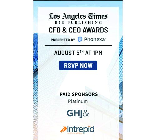 LA Times CFO & CEO Leadership Awards